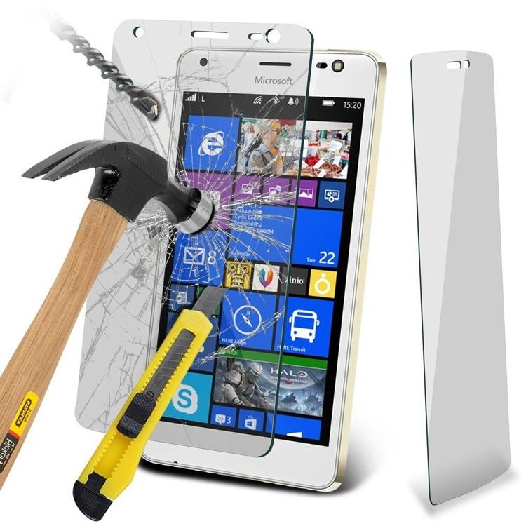 Реклама закалённого стекла для Lumia 850