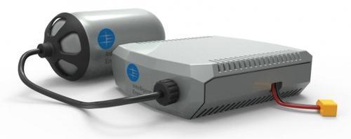 Резервуар с топливом и топливная ячейка Intelligent Energy для дронов
