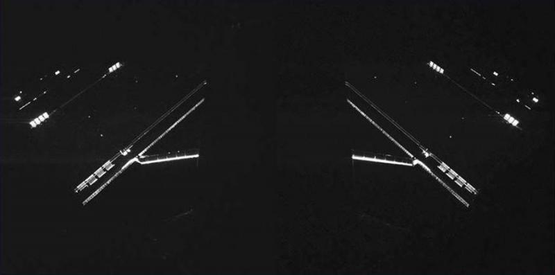 На «селфи», сделанном Philae, видны солнечные батареи зонда Rosetta