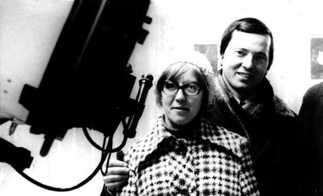 Клим Чурюмов и Светлана Герасименко в 1975 году. Фото: К. Чурюмов/Элементы.ру