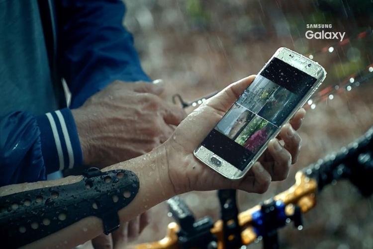 Рекламное видео подтверждает водонепроницаемость Galaxy S7 и беспроводную зарядку