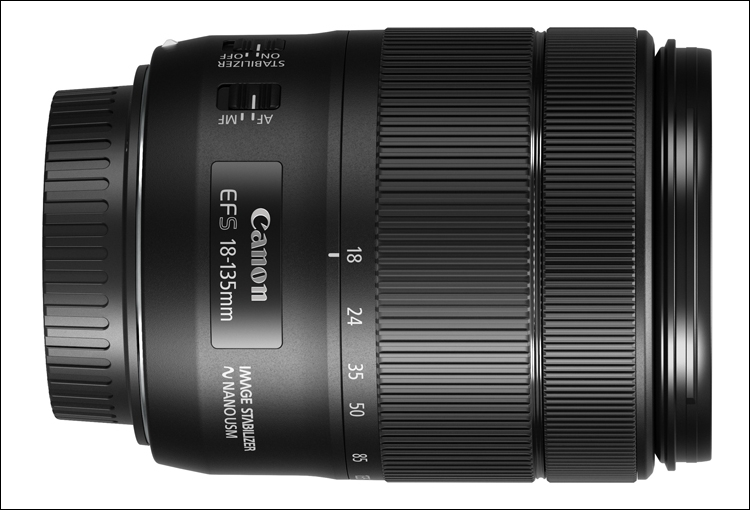 Canon  EF S 18–135mm f/3.5–5.6 IS USM