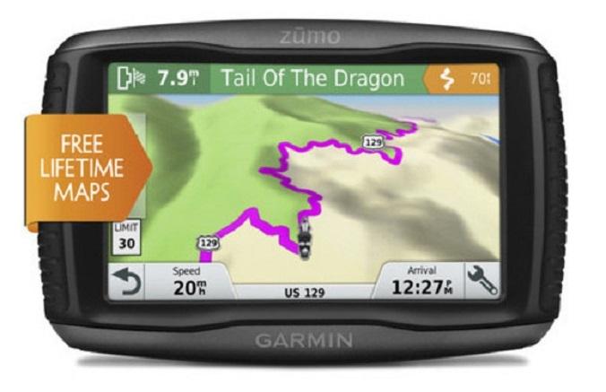 Garminzumo 395LM и 595LM: GPS-навигаторы для мотоциклов