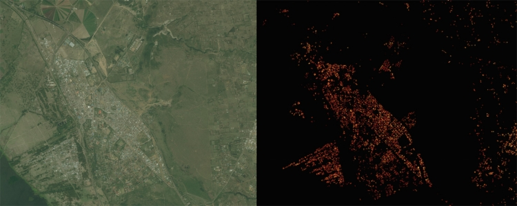Facebook создала подробную карту населения Земли с помощью искусственного интеллекта