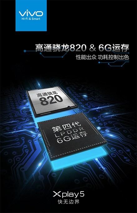 vivo подтвердила 6 Гбайт оперативной памяти у смартфона XPlay 5