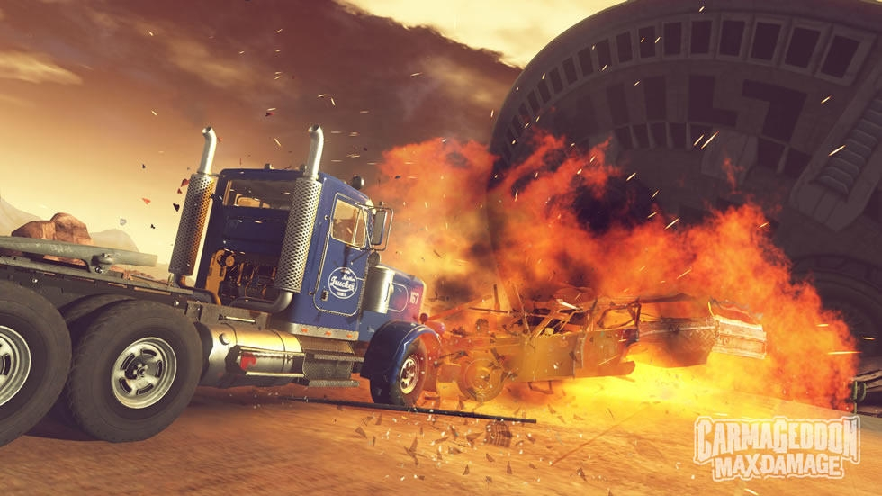 Анонсирована Carmageddon: Max Damage для PC и консолей