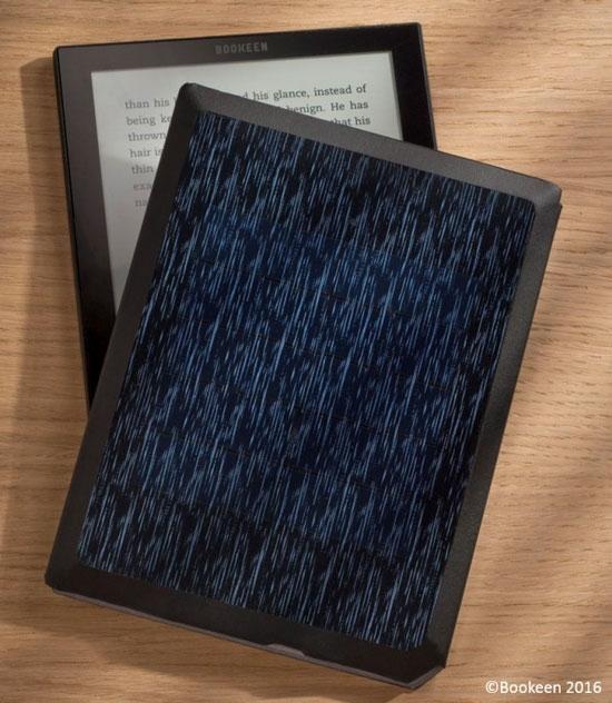 Обложка читалки Cybook Ocean со встроенной солнечной панелью (Bookeen)