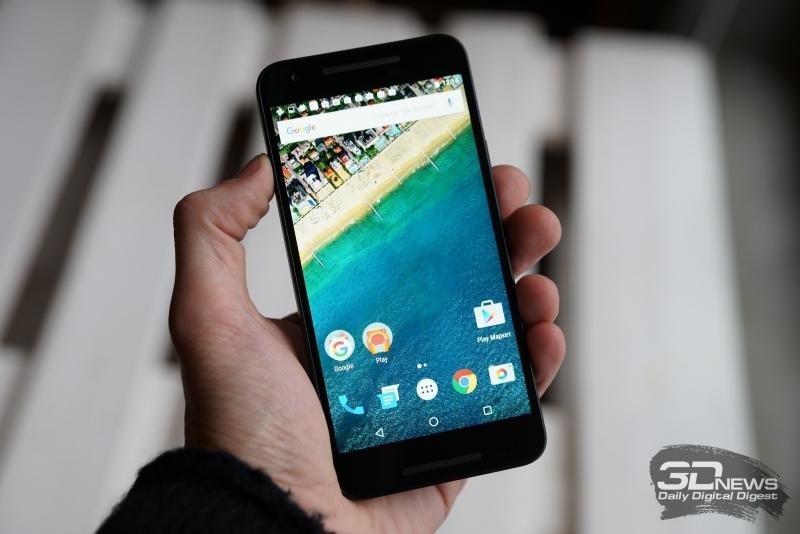 LG Nexus 5X был представлен в сентябре 2015 года