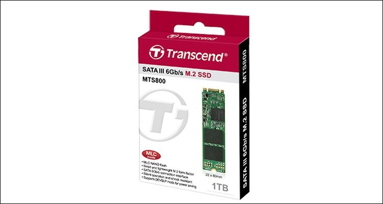 Transcend выпустила твердотельный накопитель М.2 на1 Тбайт