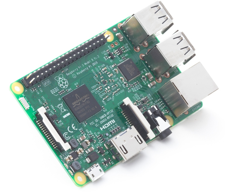 Raspberry Pi 3: одноплатный компьютер стал 64-битным и получил поддержку беспроводных сетей