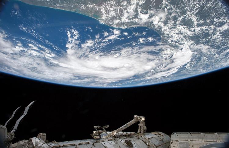 Ещё один вид на Землю с борта МКС