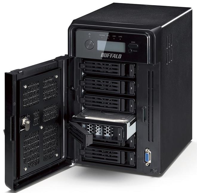 Новые NAS Buffalo TerraStation WSS HR поставляются с дисками WD Red