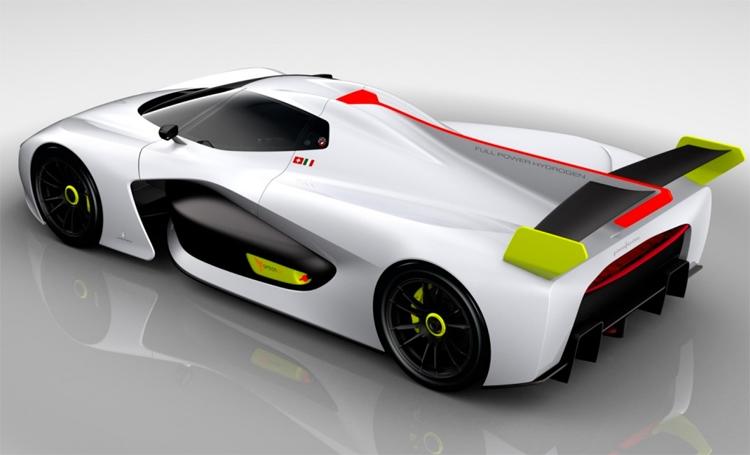 "Pininfarina H2 Speed: спортивный концепт-кар на топливных элементах"""