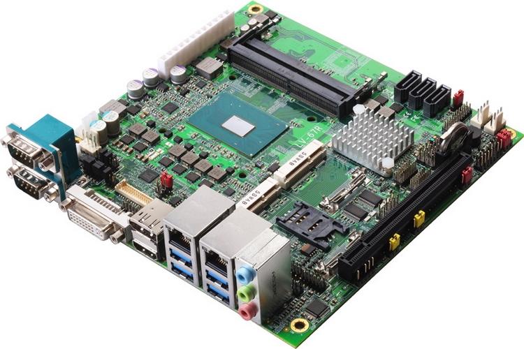 Системная плата Commell LV-67R использует экономичные модели Skylake