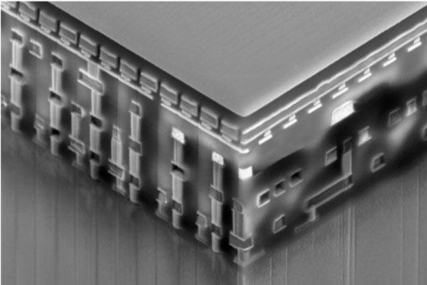 Реальный образец памяти RRAM (Crossbar)