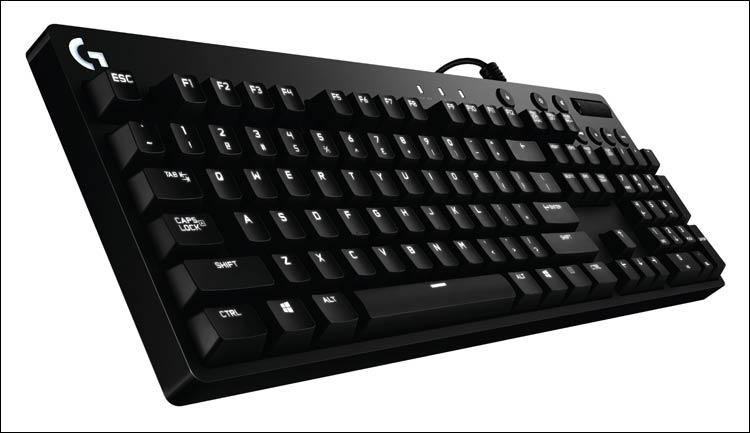 Клавиатуры Logitech G610 Orion Brown и Red адресованы любителям игр
