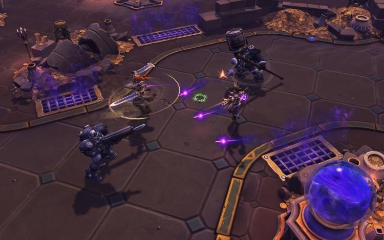 В Heroes of the Storm добавят непохожую на остальные карту с одной линией