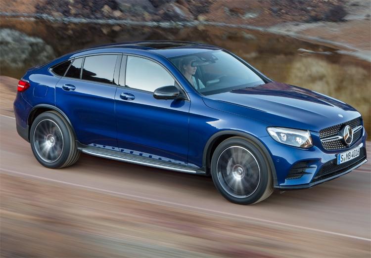 Купе-кроссовер Mercedes-Benz GLC Coup
