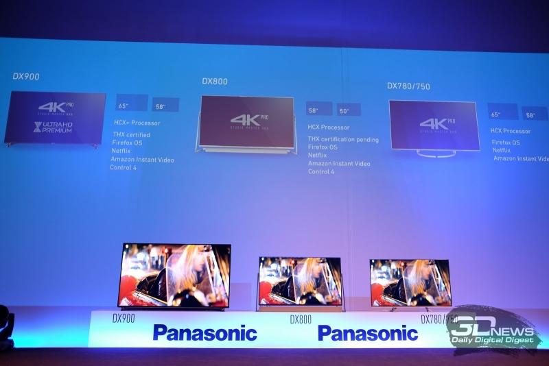 Новая линейка ЖК-телевизоров Panasonic