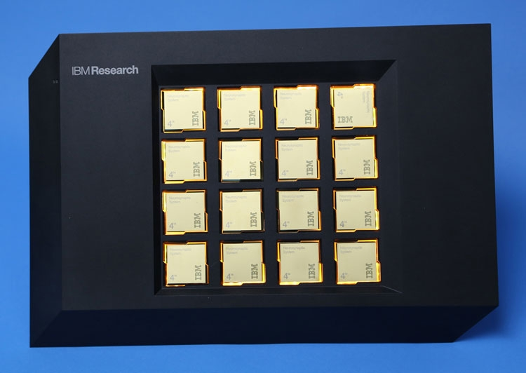 16-ядерная система на «когнитивных» процессорах IBM TrueNorth, проданная Ливермольской лаборатории