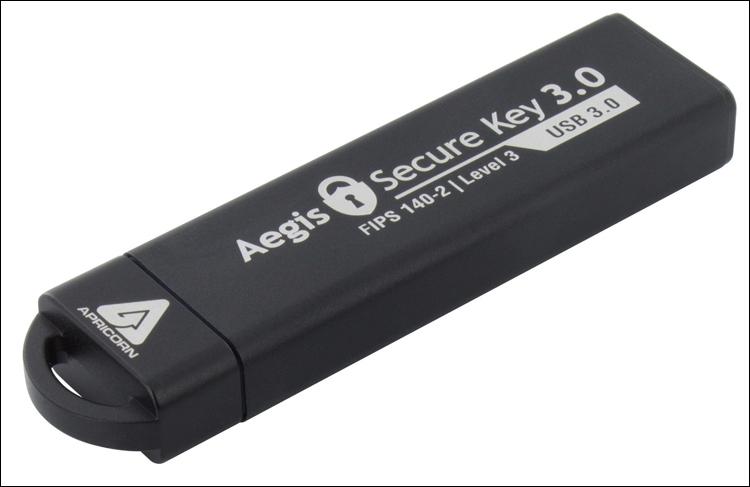 Ёмкость защищённого флеш-брелока Aegis Secure Key 3.0 достигла 480 Гбайт