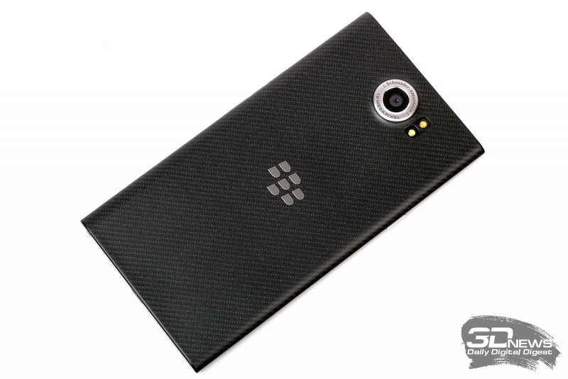 BlackBerry Priv – задняя панель