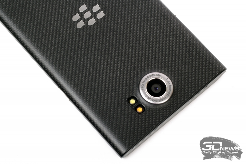 BlackBerry Priv – основная камера