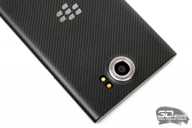 BlackBerry Priv – основная камера