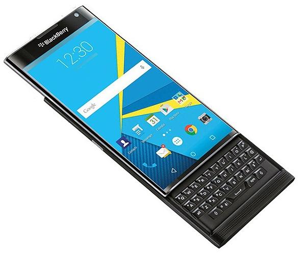 BlackBerry Priv – официальное фото
