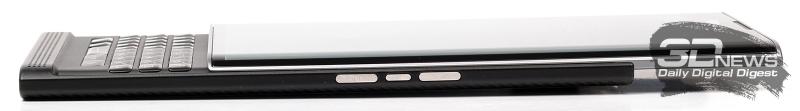 BlackBerry Priv – боковая сторона в раздвинутом состоянии