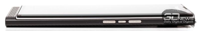 BlackBerry Priv – боковая сторона