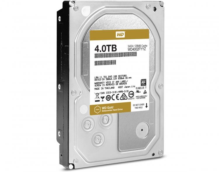 WD Gold 6 Тбайт (WD6002FRYZ)