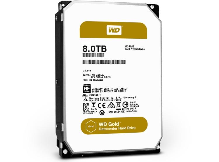 WD Gold 8 Тбайт (WD8002FRYZ)