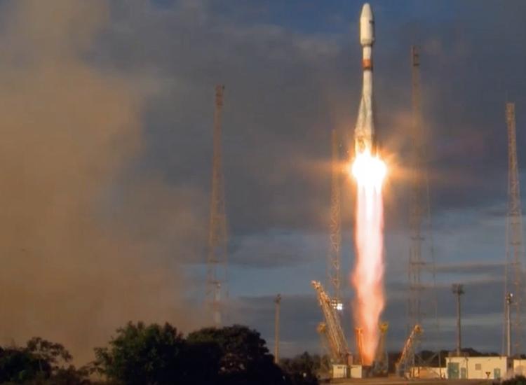"""Осуществлён успешный запуск ракеты «Союз-СТ-А» с европейскими спутниками"""""""