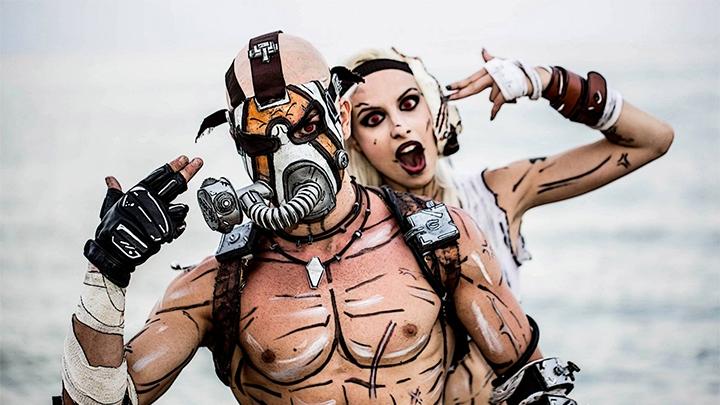 Косплей бандитов в исполнении Леона Хиро (Leon Chiro) и Джессики Арманетти (Jessica Armanetti).   jessicamisshatred.deviantart