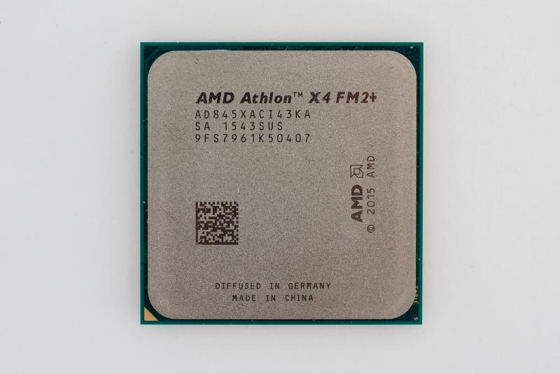 Обзор процессора AMD Athlon X4845: десктопный Carrizo