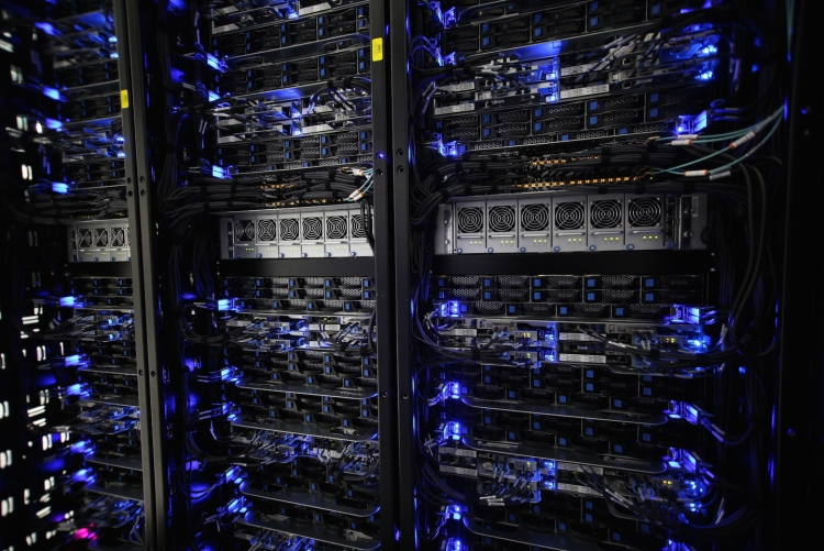 Серверы в ЦОД компании Rackspace