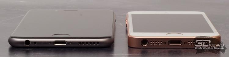 iPhone 6 и iPhone SE