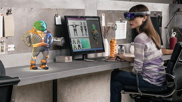 Раскрыто техническое оснащение очков Microsoft HoloLens для разработчиков