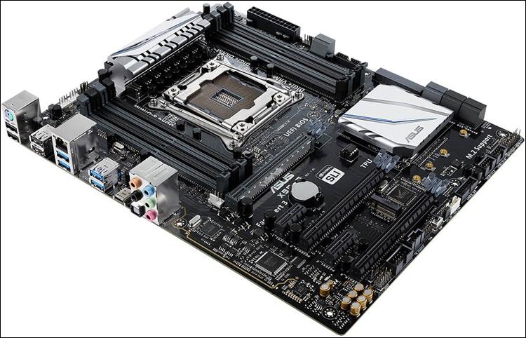 Трио материнских плат ASUS на платформе Intel X99