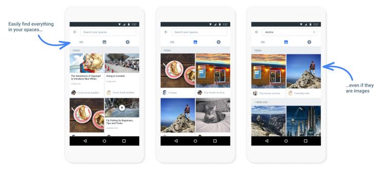 """Google выпустила приложение для группового шеринга Spaces"""""""