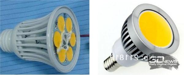 Лампы на COB-сборках