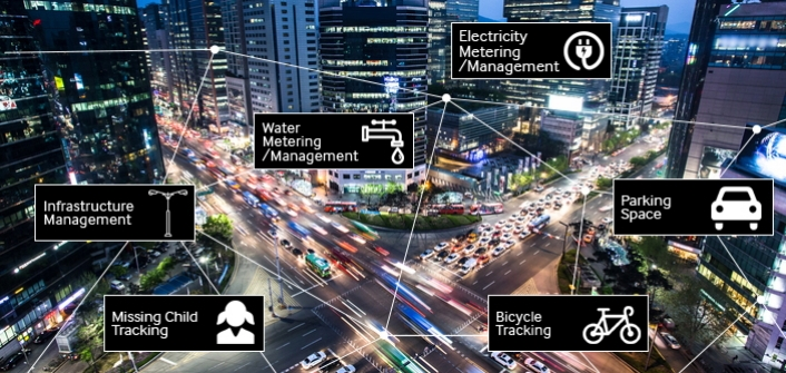 Samsung создаст первую общенациональную сеть для «умного» города