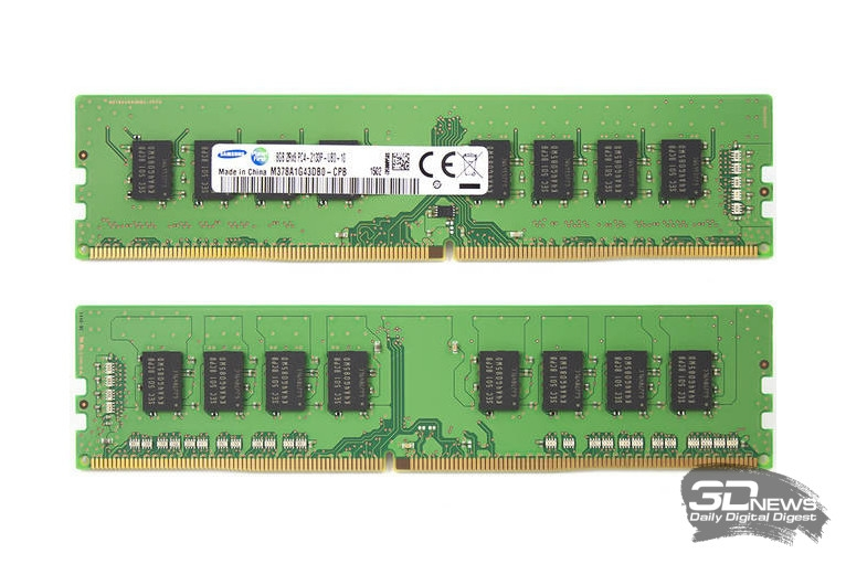 Модули Samsung M378A1G43DB0-CPB00 – полуфабрикат для Patriot Viper 4