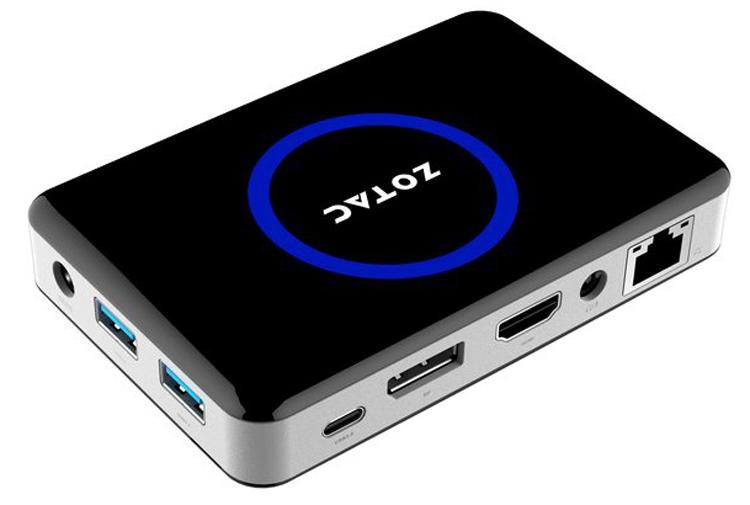 Новый мини-компьютер Zotac ZBox Pico построен на платформе Intel Cherry Trail
