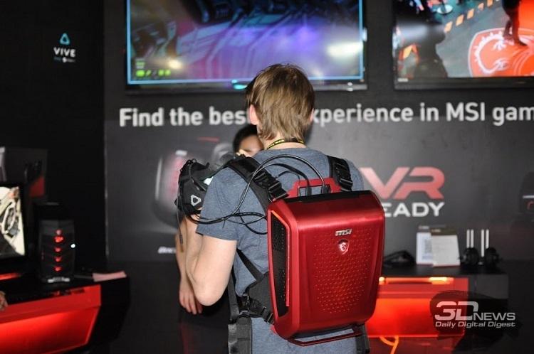 Рюкзак-ПК, или Backpack PC