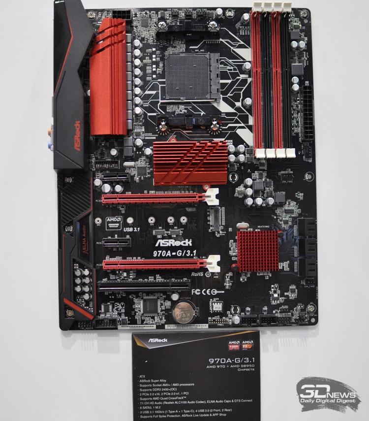 Платы ASRock 970A-G/3.1 и 990FX Extreme9 на чипсетах AMD