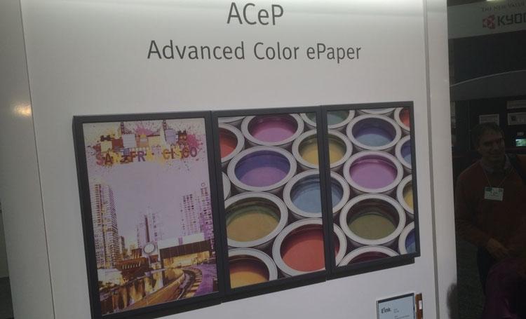 """Раскрыт секрет технологии полноцветных экранов E Ink ACeP"""""""