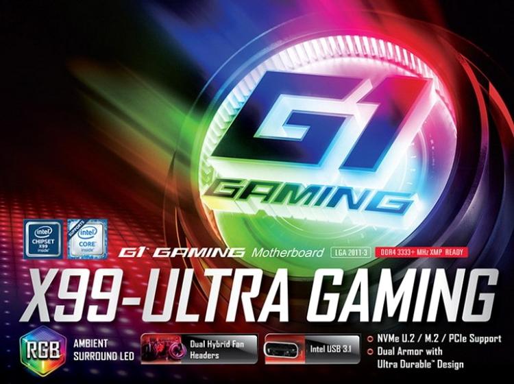 Платы GIGABYTE Ultra Gaming предназначены для истинных игроков и моддеров