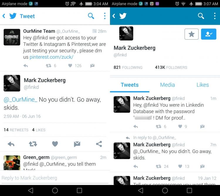"""Аккаунты Марка Цукерберга в социальных сетях были взломаны"""""""